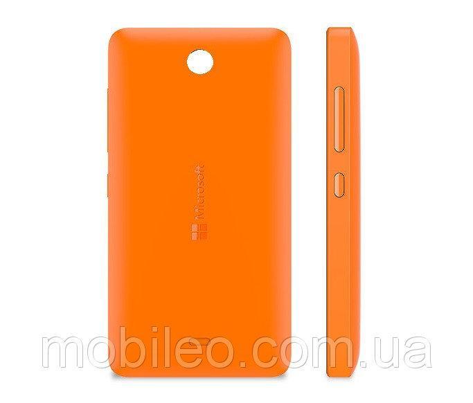 Задняя крышка Microsoft 430 Lumia оранжевая