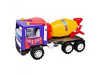 Игрушечная машина Бетономешалка Супер Трак Kinderway 14-005-1