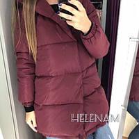 Женская теплая куртка зефирка