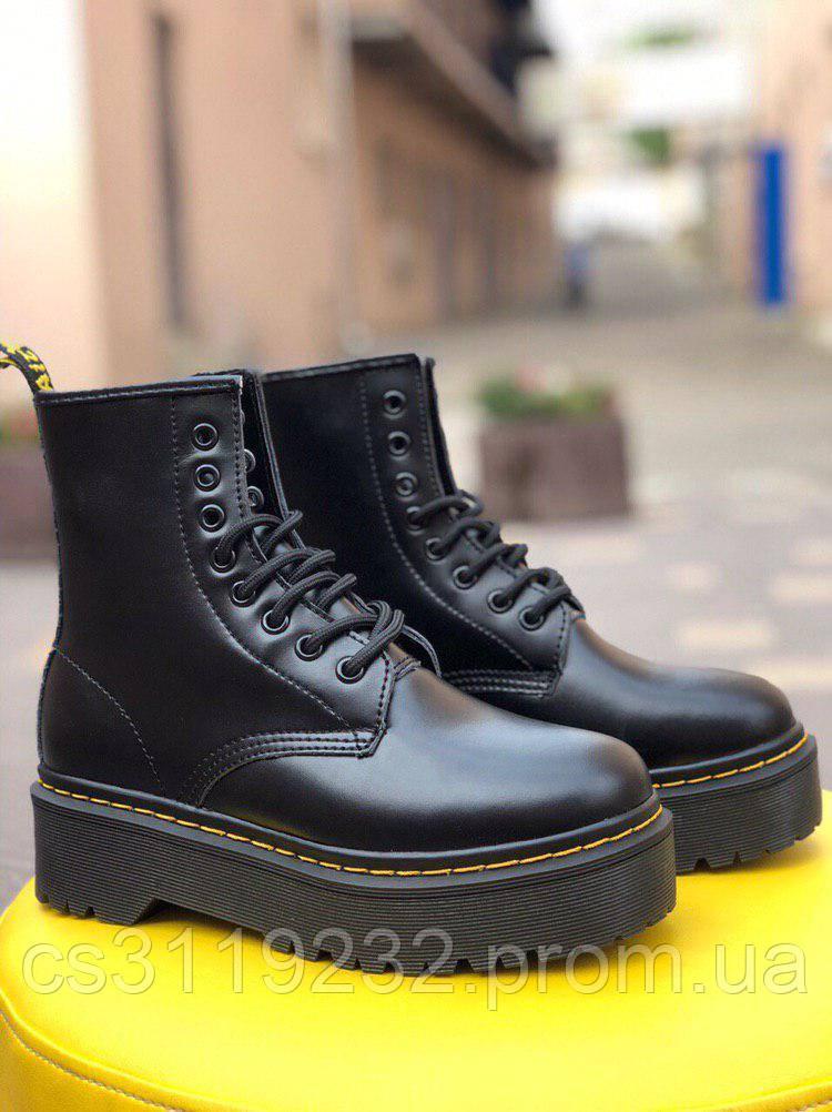 Женские ботинки Dr.Martens Bex демисезонные (черный)