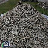 Камінь річковий плескатий для габіонів 40-80 мм, фото 2