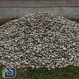 Камінь річковий плескатий для габіонів 40-80 мм, фото 3