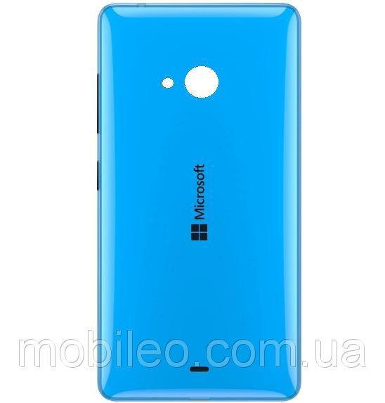 Задняя крышка Microsoft 540 Lumia Dual Sim голубая