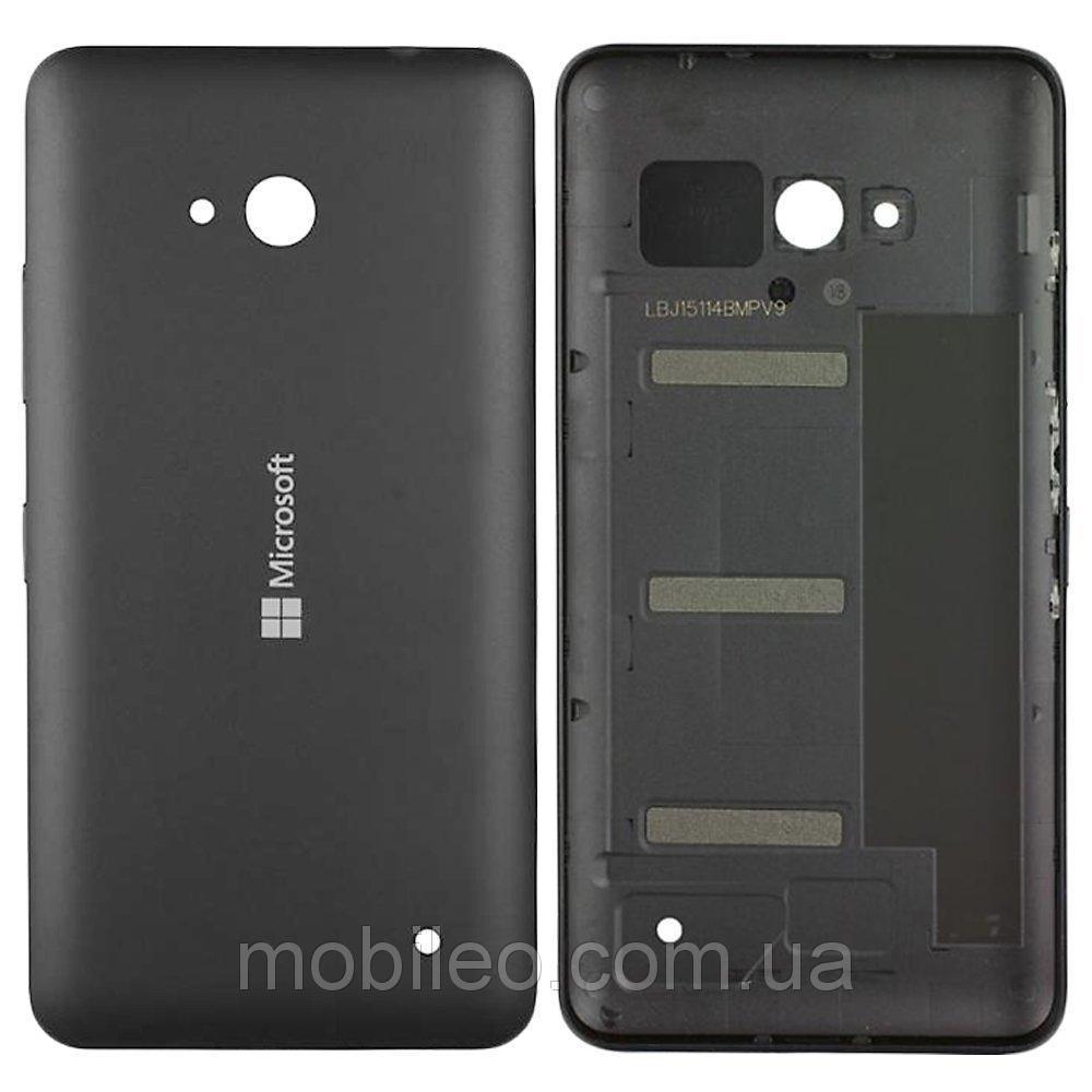 Задняя крышка Microsoft 640 Lumia RM-1077 чёрная