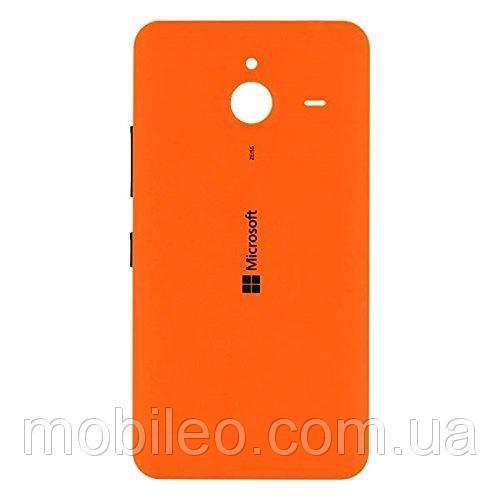 Задняя крышка Microsoft 640 XL Lumia Dual Sim RM-1062 RM-1065 оранжевая оригинал
