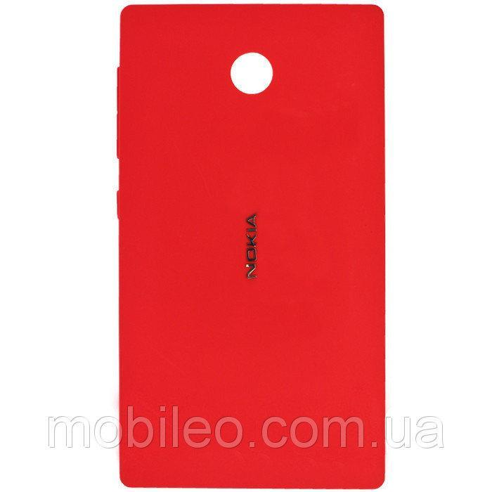 Задняя крышка Nokia X Dual Sim RM-980 красная