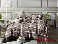Евро макси набор постельного белья 200*220 из Сатина №0701AB Черешенка™