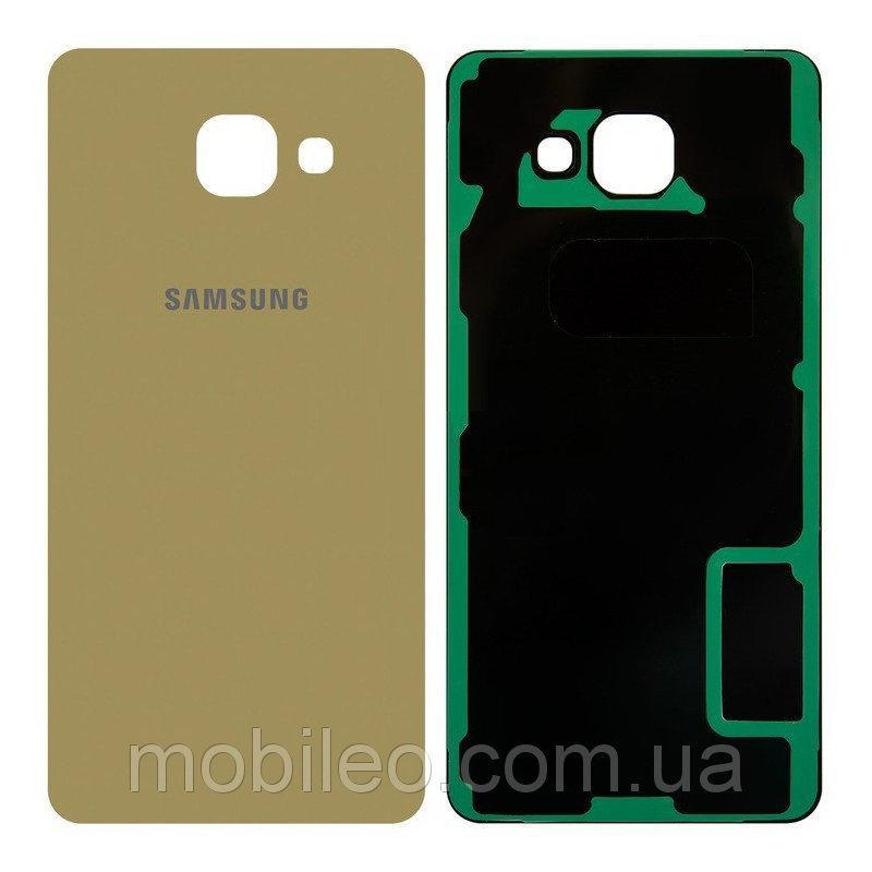 Задняя крышка Samsung A510 Galaxy A5 (2016) A510F A510FU A510H золотистая ориг. к-во