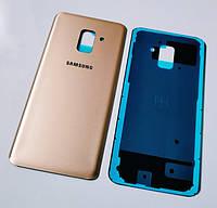 Задняя крышка Samsung A530 Galaxy A8 (2018) gold