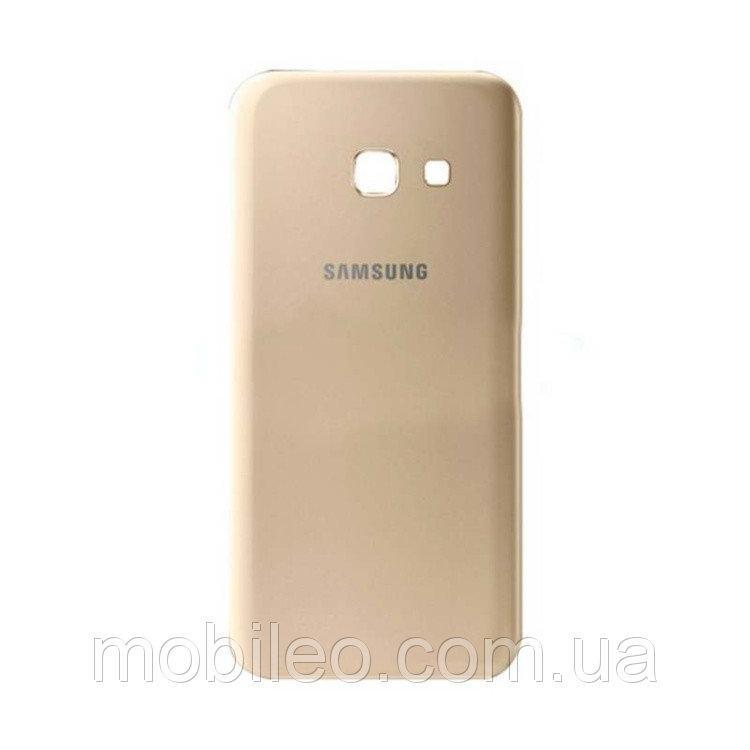 Задняя крышка Samsung A720F Galaxy A7 (2017) золотистая ориг. к-во