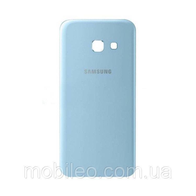 Задняя крышка Samsung A720F Galaxy A7 (2017) синяя ориг. к-во
