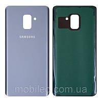 Задняя крышка Samsung A730F Galaxy A8 Plus (2018) голубая