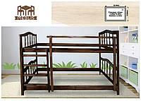 """Ліжко дерев'яне """"Двухярусне"""""""