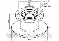 08584182 / Тормозной диск Ø280x142,5x16 IVECO Daily