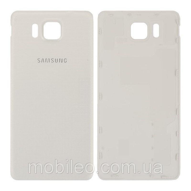 Задняя крышка Samsung G850 Galaxy Alpha белая