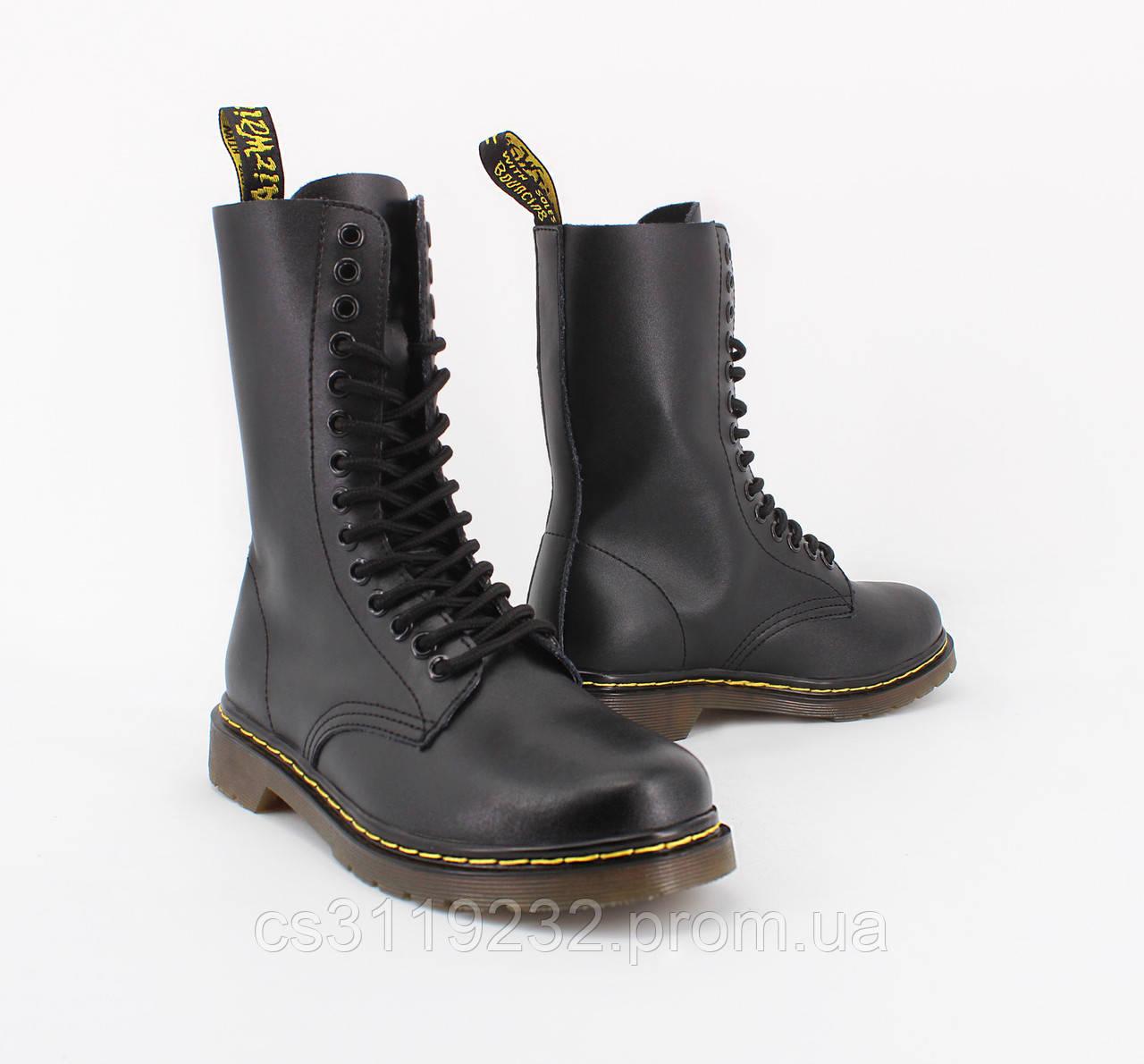 Женские ботинки Dr.Martens 1914 Black демисезонные (черный)