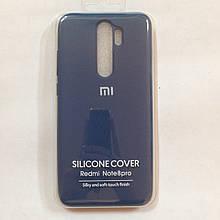 Чехол Xiaomi Redmi Note 8 Pro Silicone Case Navi Blue