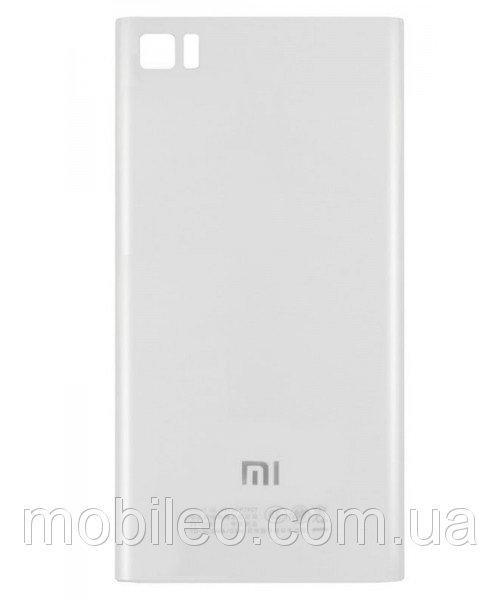 Задняя крышка Xiaomi Mi3 белая