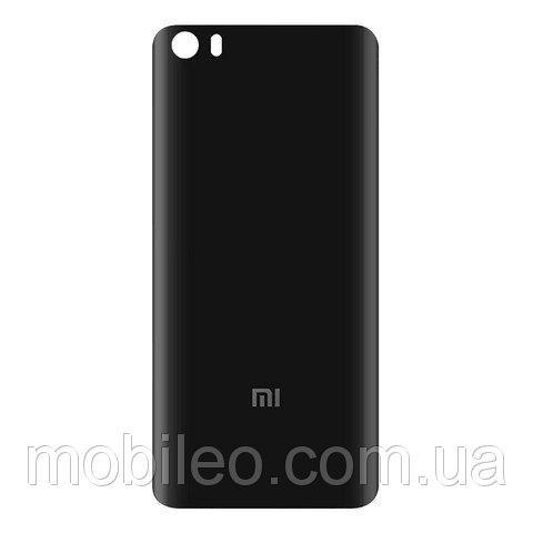 Задняя крышка Xiaomi Mi5 чёрная