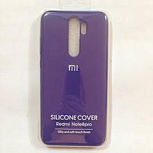 Чехол для Xiaomi Redmi Note 8 Pro Silicone Case Purple