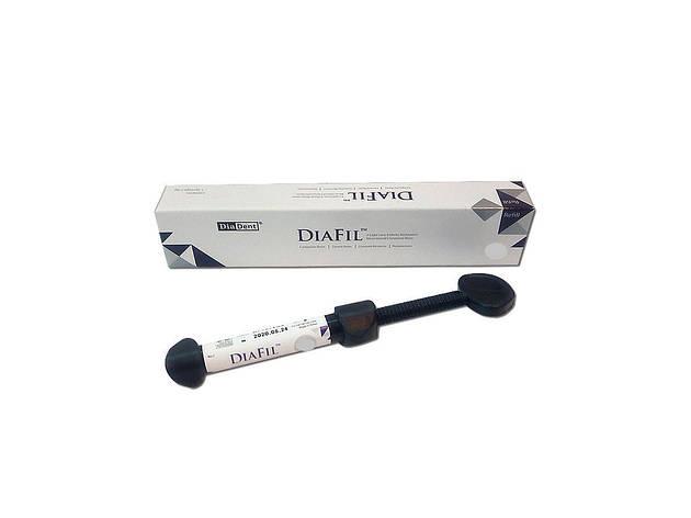 Універсальний композит DiaFil шприц А4 (4г) DiaDent, фото 2