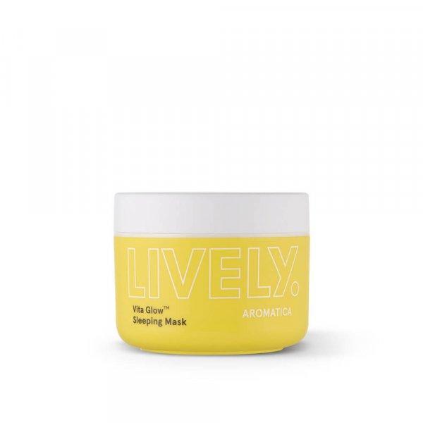 Ночная витаминная маска для тусклой кожи Aromatica Lively Vita Glow Sleeping Mask 100 г