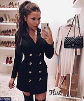 Платье женское пиджак нарядное стильное размеры 42 44 новинка 2019 много цветов