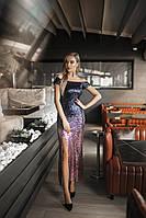 Платье коктейльное в расцветках 38649, фото 1