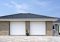 Ворота гаражні секційні Алютех Prestige ш 2900 в 2200