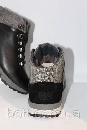 Сапоги мужские кожаные черные, фото 3