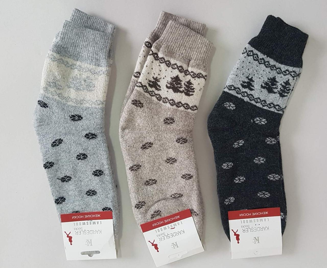 Женские шерстяные носки «Kardesler» (1 пара)