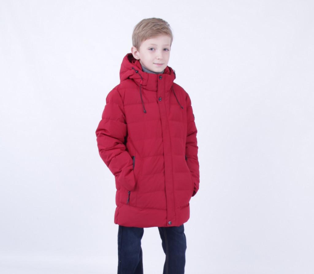 Дитяча зимова парку для хлопчика PUROS мати поро 723   134-158р