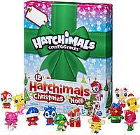 Набор Новогодний 12 фигурок Хатчималс. Hatchimals Colleggtibles Advent Calendar из США