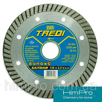 Tredi SAIT d125 Алмазный отрезной диск о граниту, керамике