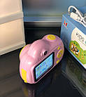 Дитячий фотоапарат, Kids Camera c дисплеєм, дитяча фотокамера, Рожева, фото 4