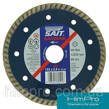 CU SAIT d125 Алмазный отрезной диск по граниту, керамике