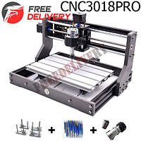 ЧПУ станок фрезерный CNC 3018 Pro CNC3018 GRBL DIY + патрон ER11 цанга