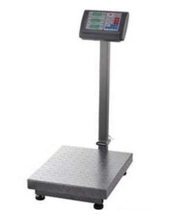 Весы торговые 350 кг электронные напольные c со счетчиком цены