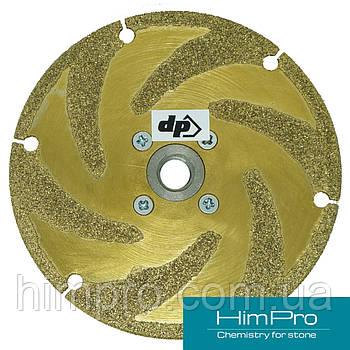 D125 Алмазный шлифовально-отрезной диск с фланцем самурай