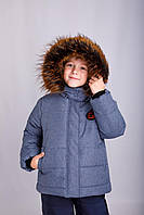 Р-р 92, 110,122, Куртка детская зимняя тёплая на флисе , для мальчика