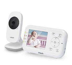 """Цифровая видеоняня 2,8"""" Vtech VM3252 c датчиком температуры и цветным экраном"""