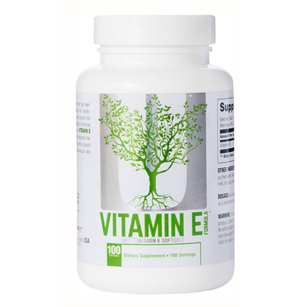 Vitamin E Universal Nutrition 100 капсул