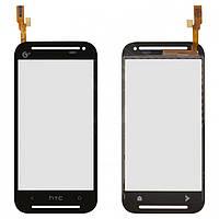 Touchscreen (сенсорный экран) для HTC Desire 608t, оригинал (черный)
