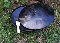 Сковорода из диска бороны с крышкой 40 см