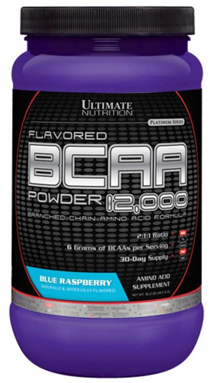 Ultimate Nutrition BCAA powder 12000 - 457 г - лимонад, фото 1