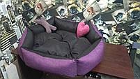 Теплый Диван лежанка Premium 90 х 80 см.Лежанка,Лежаки,лежак,лежак для кошки,лежак, фото 2