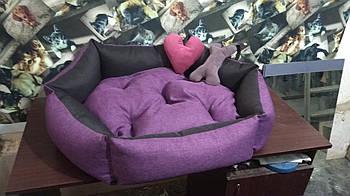 Теплый Диван лежанка Premium 90 х 80 см.Лежанка,Лежаки,лежак,лежак для кошки,лежак