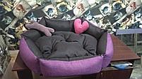 Теплый Диван лежанка Premium 90 х 80 см.Лежанка,Лежаки,лежак,лежак для кошки,лежак, фото 4