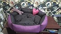 Теплый Диван лежанка Premium 90 х 80 см.Лежанка,Лежаки,лежак,лежак для кошки,лежак, фото 6