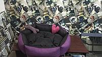 Теплый Диван лежанка Premium 90 х 80 см.Лежанка,Лежаки,лежак,лежак для кошки,лежак, фото 8